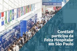 ContSelf participa de Feira Hospitalar em São Paulo
